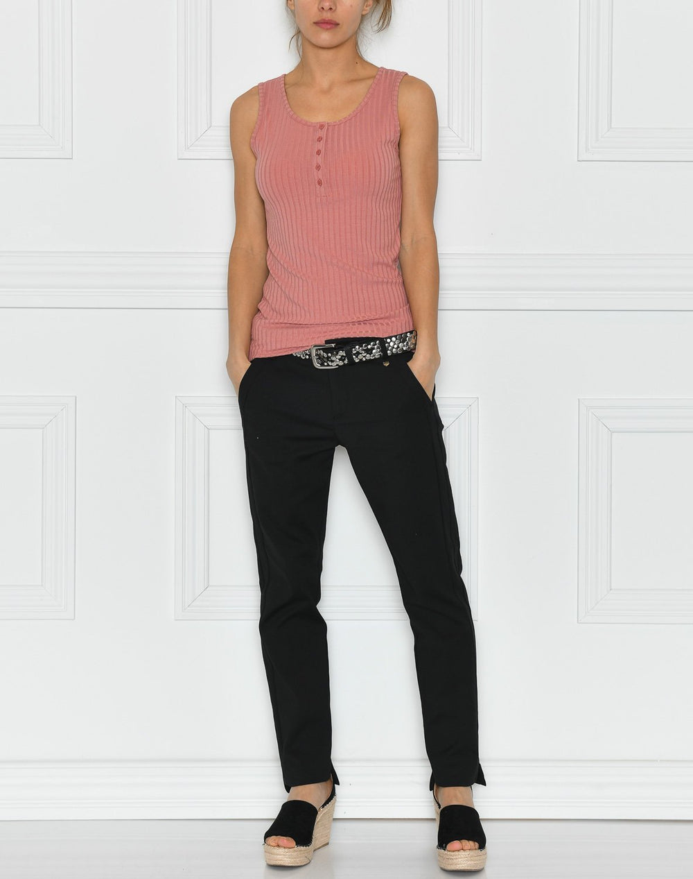 Kaffe KAtrudy tank top old rose - Online-Mode