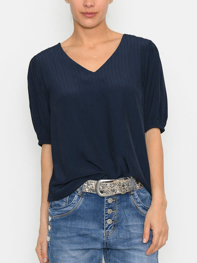 Kaffe KAveronica blouse midnight marine - Online-Mode