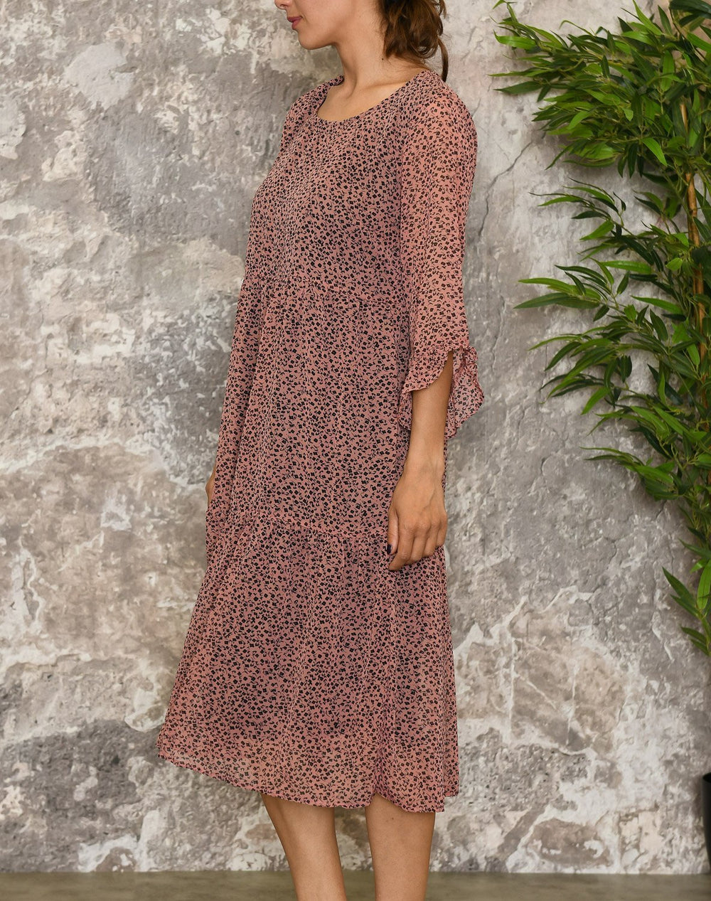Kaffe KAwillia dress old rose - Online-Mode