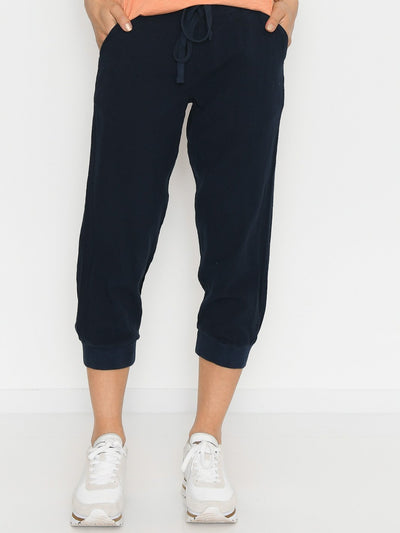 Kaffe Naya capri pants midnight marine - Online-Mode