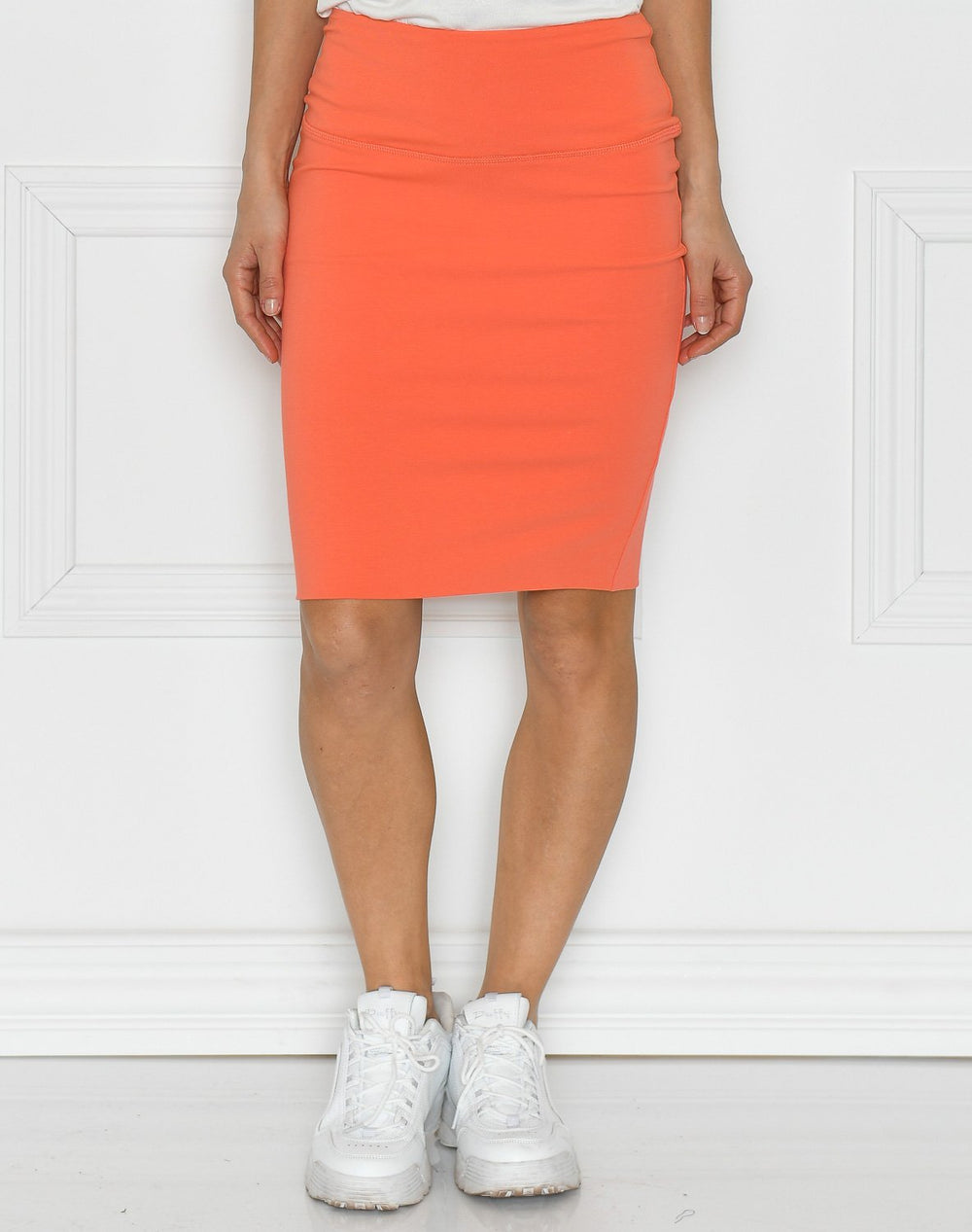Kaffe Penny skirt living coral - Online-Mode