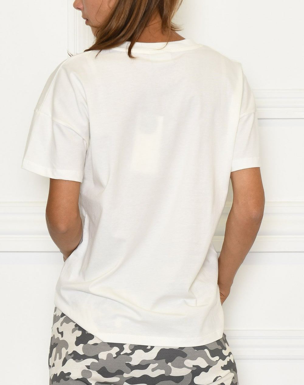 Kaffe Soho t-shirt chalk - Online-Mode