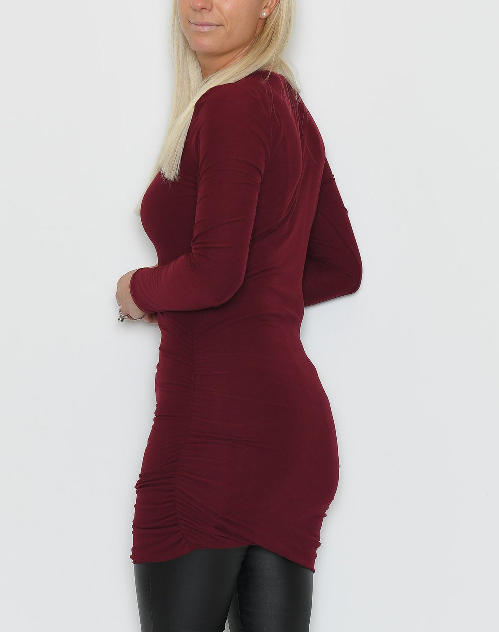 Liberté Alma long dress burgundy - Online-Mode