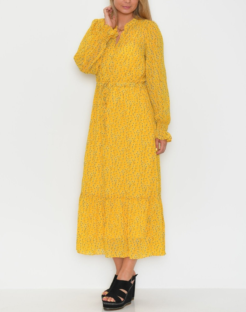 Liberté Ioana shirt dress yellow - Online-Mode