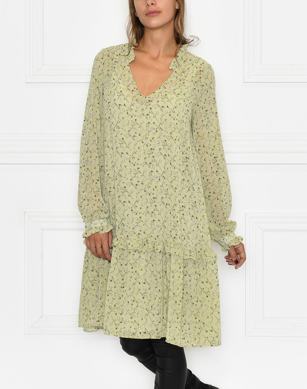 Liberté Shirley dress dusty lime - Online-Mode