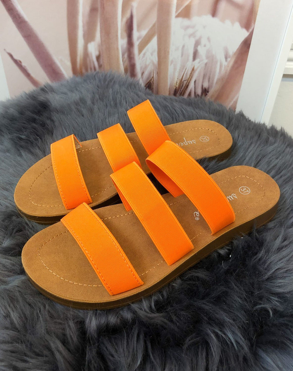 Lisa sandaler orange - Online-Mode