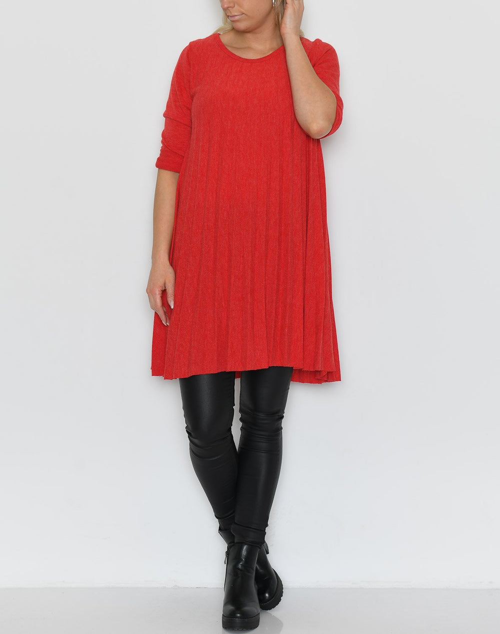 Louise dress red - Online-Mode