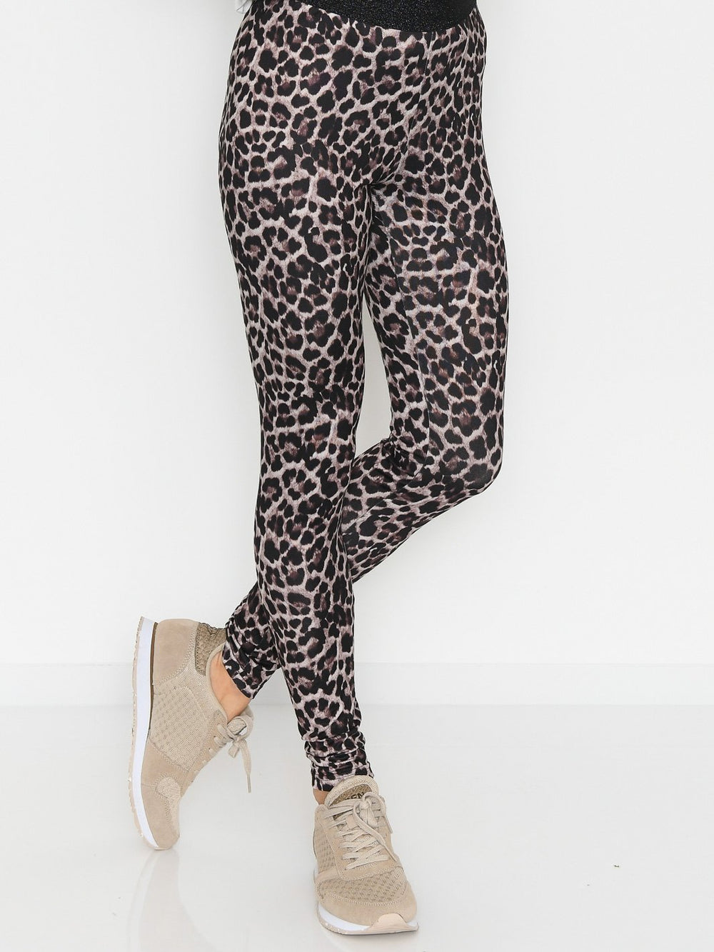 Luxzuz Ayoe animal legging bark brown - Online-Mode