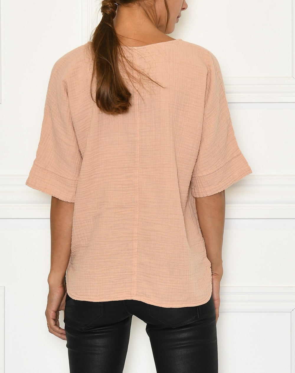 Luxzuz Helia blouse powder rose - Online-Mode