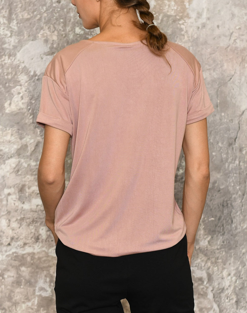 Luxzuz Karin t-shirt 1782 rose - Online-Mode