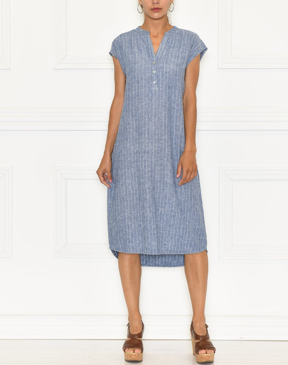 Luxzuz Kikari dress indigo blue - Online-Mode