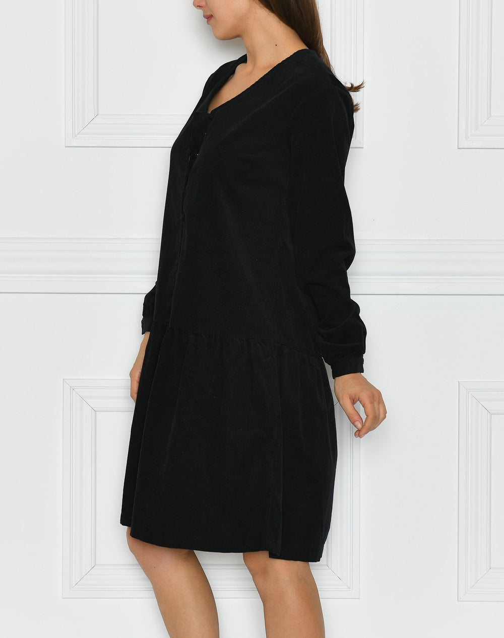 Luxzuz Pam dress black - Online-Mode