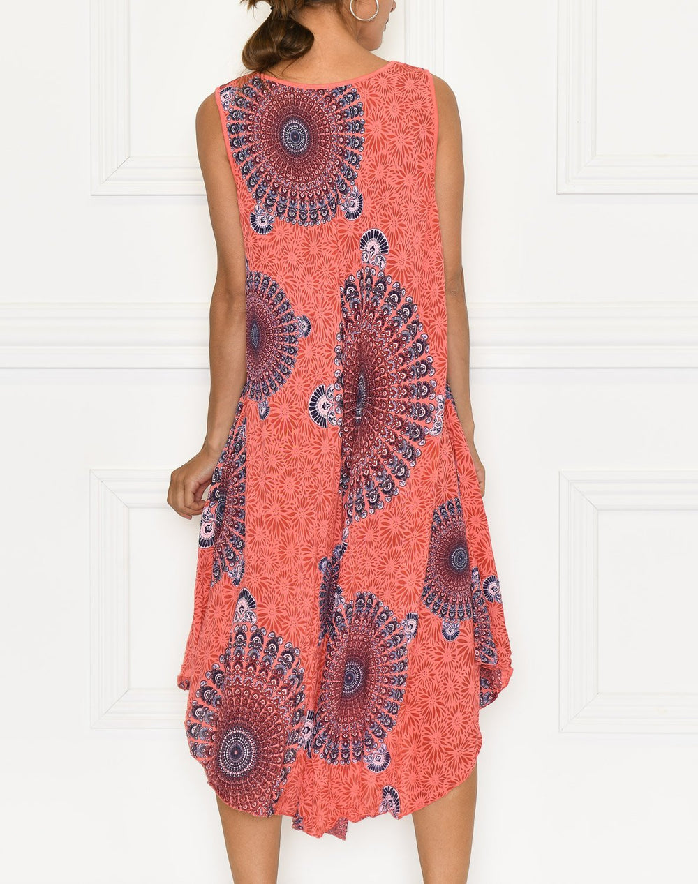 Mikayla dress coral - Online-Mode