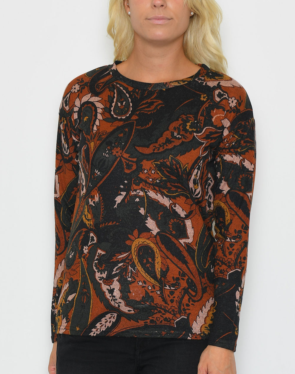 B.young BYPieta pullover dark copper