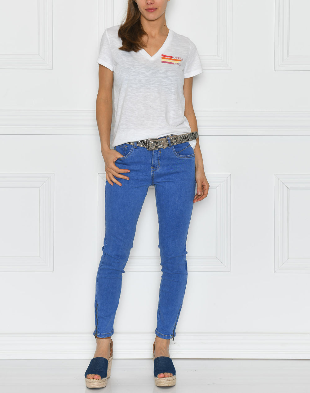 Cream BennieCR jeans spring blue denim