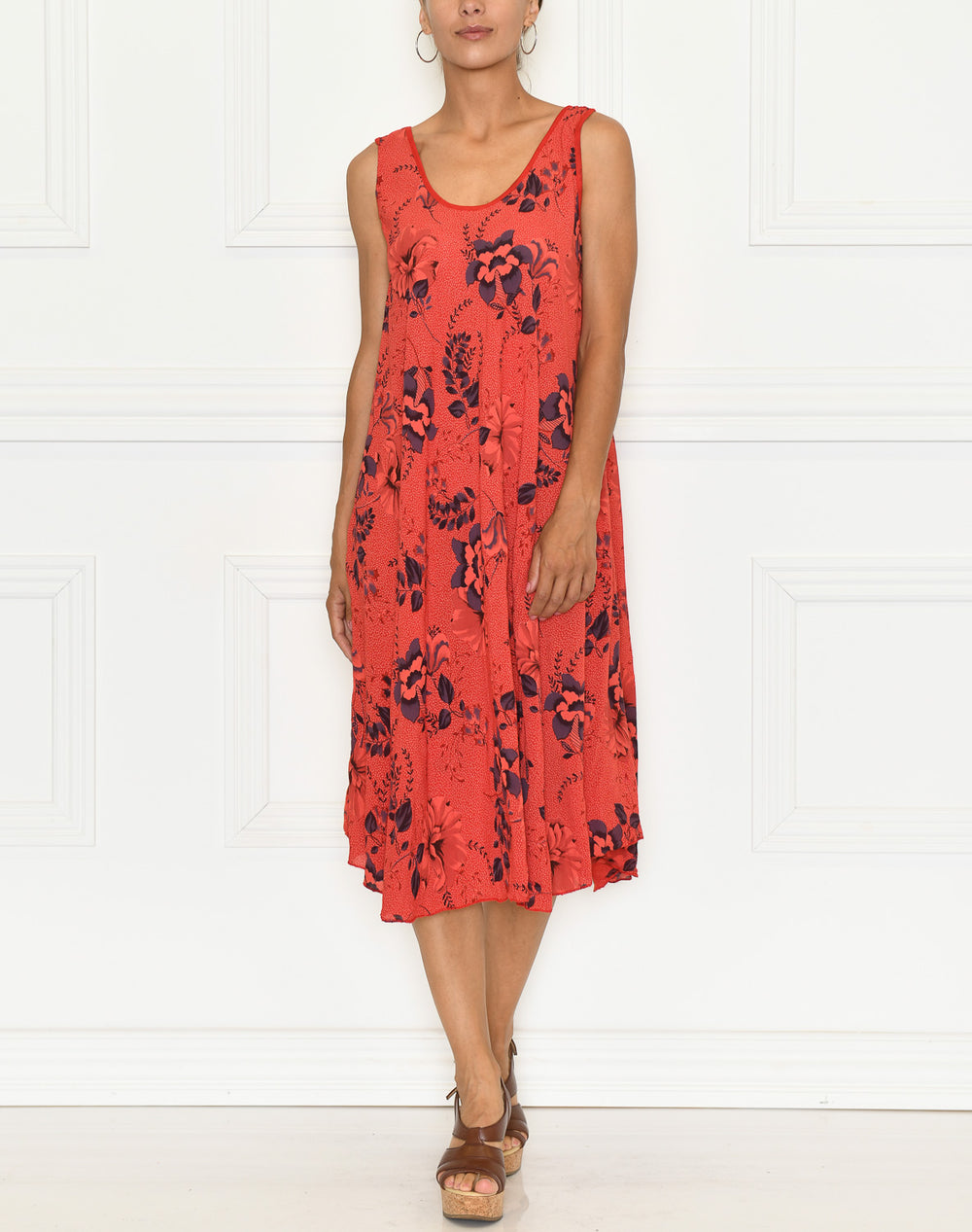 Dakini dress red