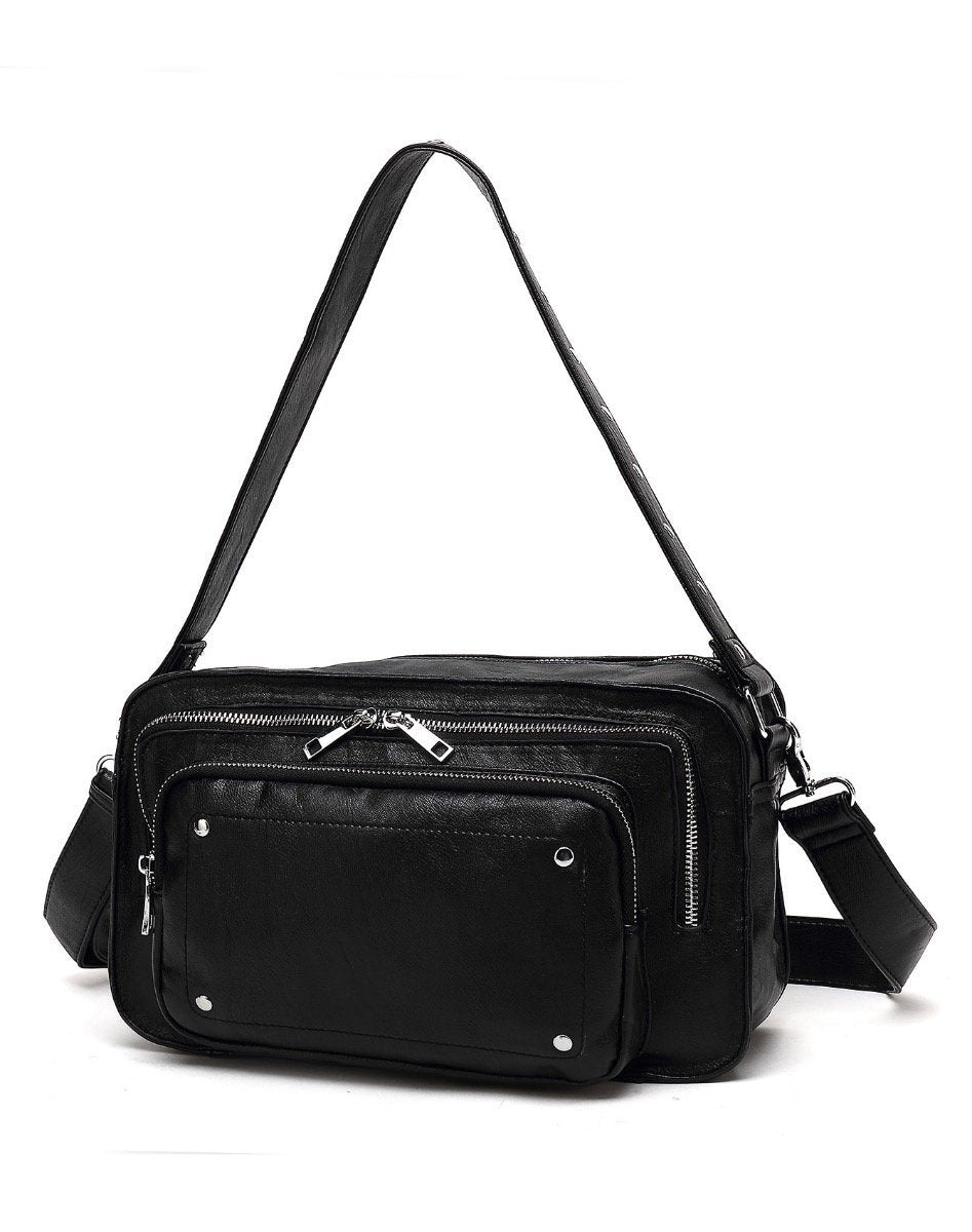 Noella Cali crossover bag black washed look - Online-Mode