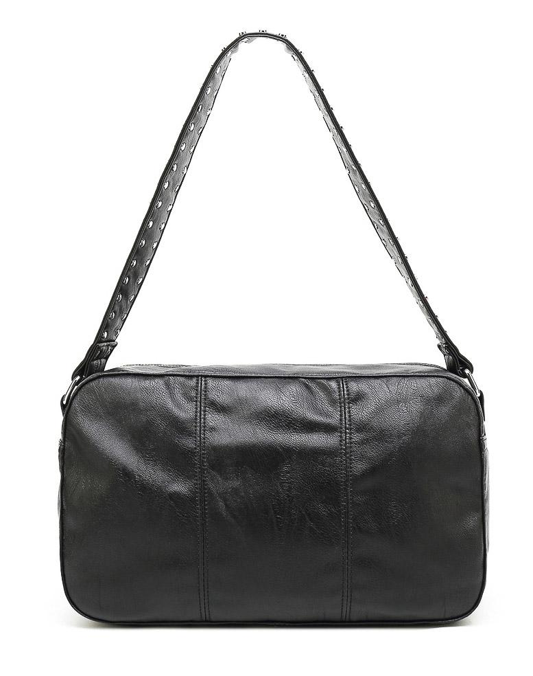 Noella Celia crossover bag black leather look - Online-Mode