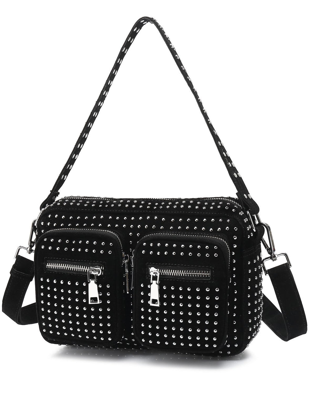 Noella Celina crossover bag black all studs - Online-Mode
