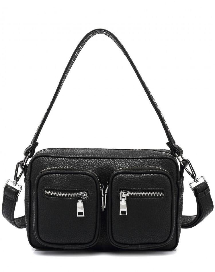 Noella Celina crossover bag black nappa look - Online-Mode