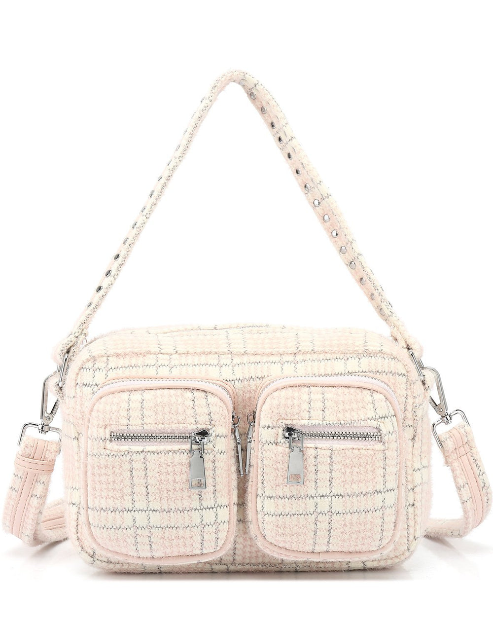 Noella Celina crossover bag rose/silver checks - Online-Mode