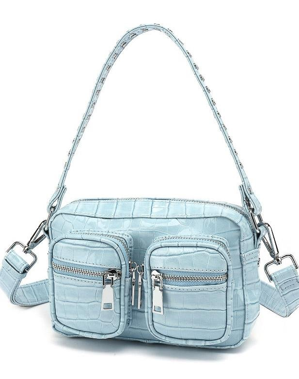 Noella Kendra bag blue croco - Online-Mode