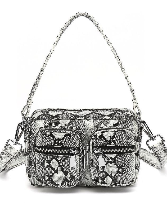 Noella Kendra bag white/grey snake - Online-Mode