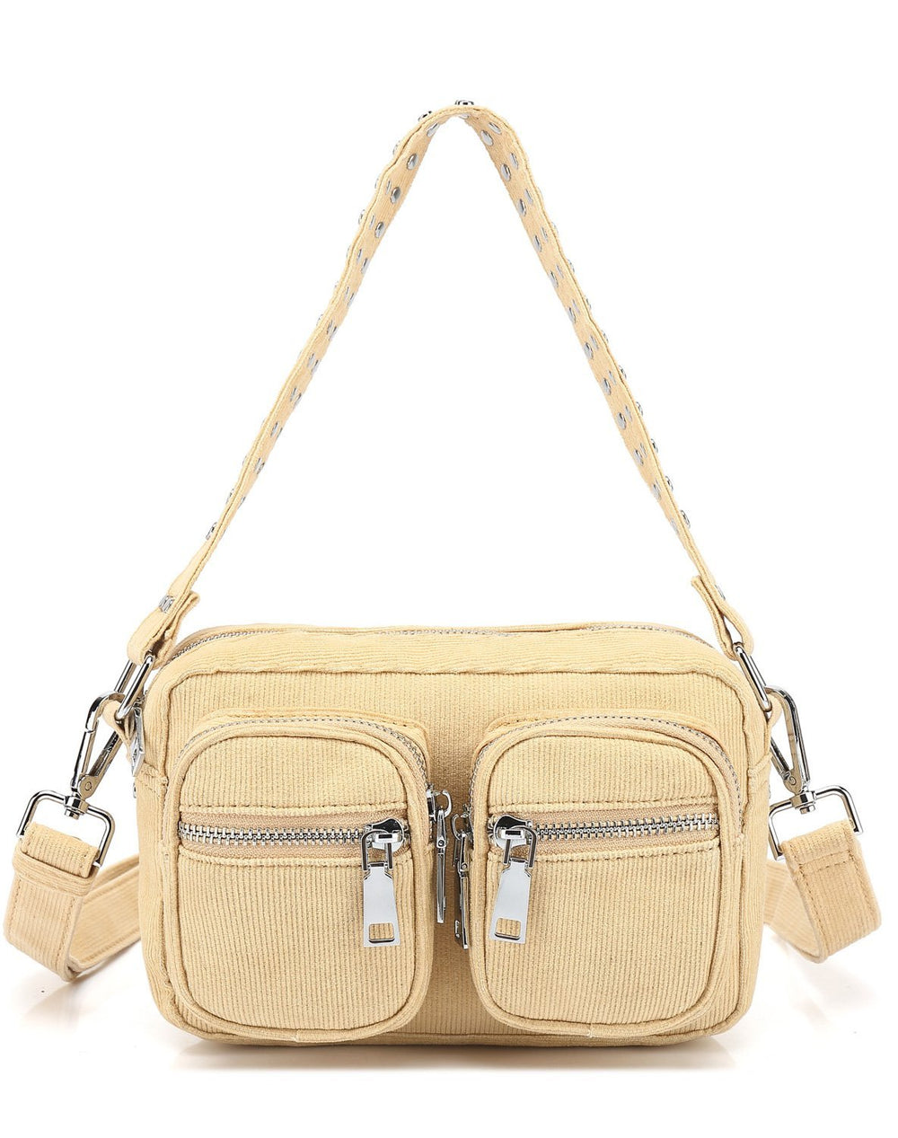 Noella Kendra bag yellow corderoy - Online-Mode
