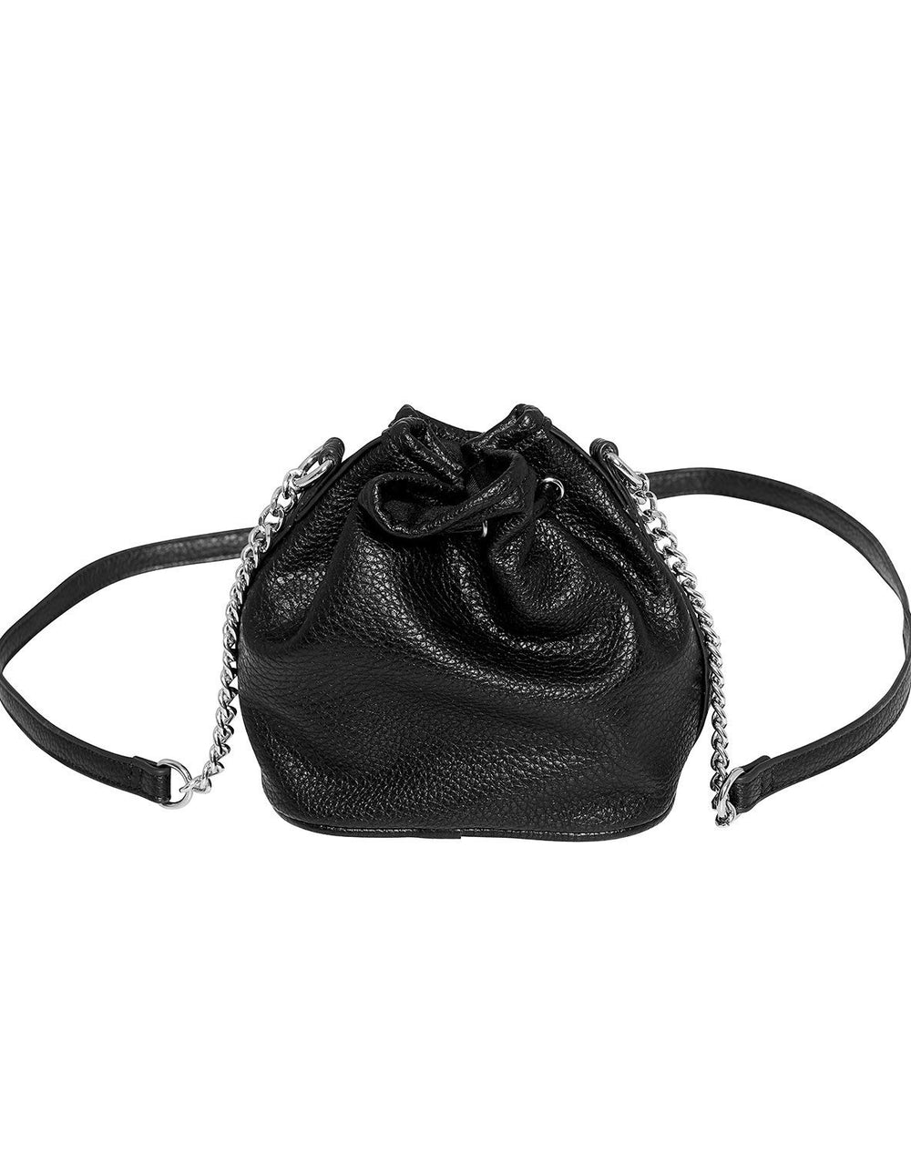 Noella Silja bag small black nappa look - Online-Mode