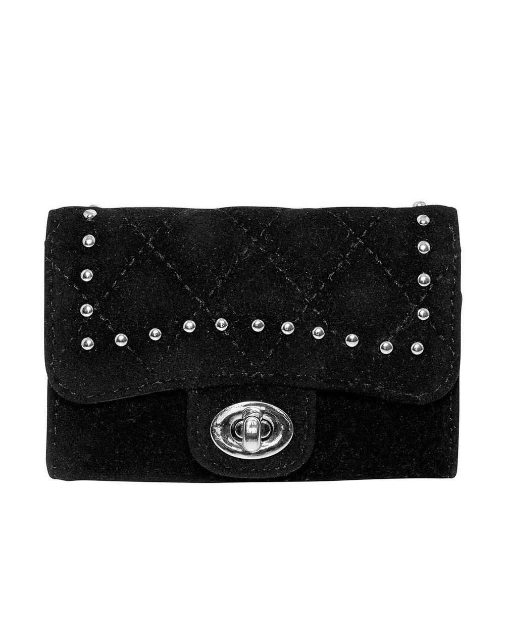 Noella Wallet black quilted studs - Online-Mode