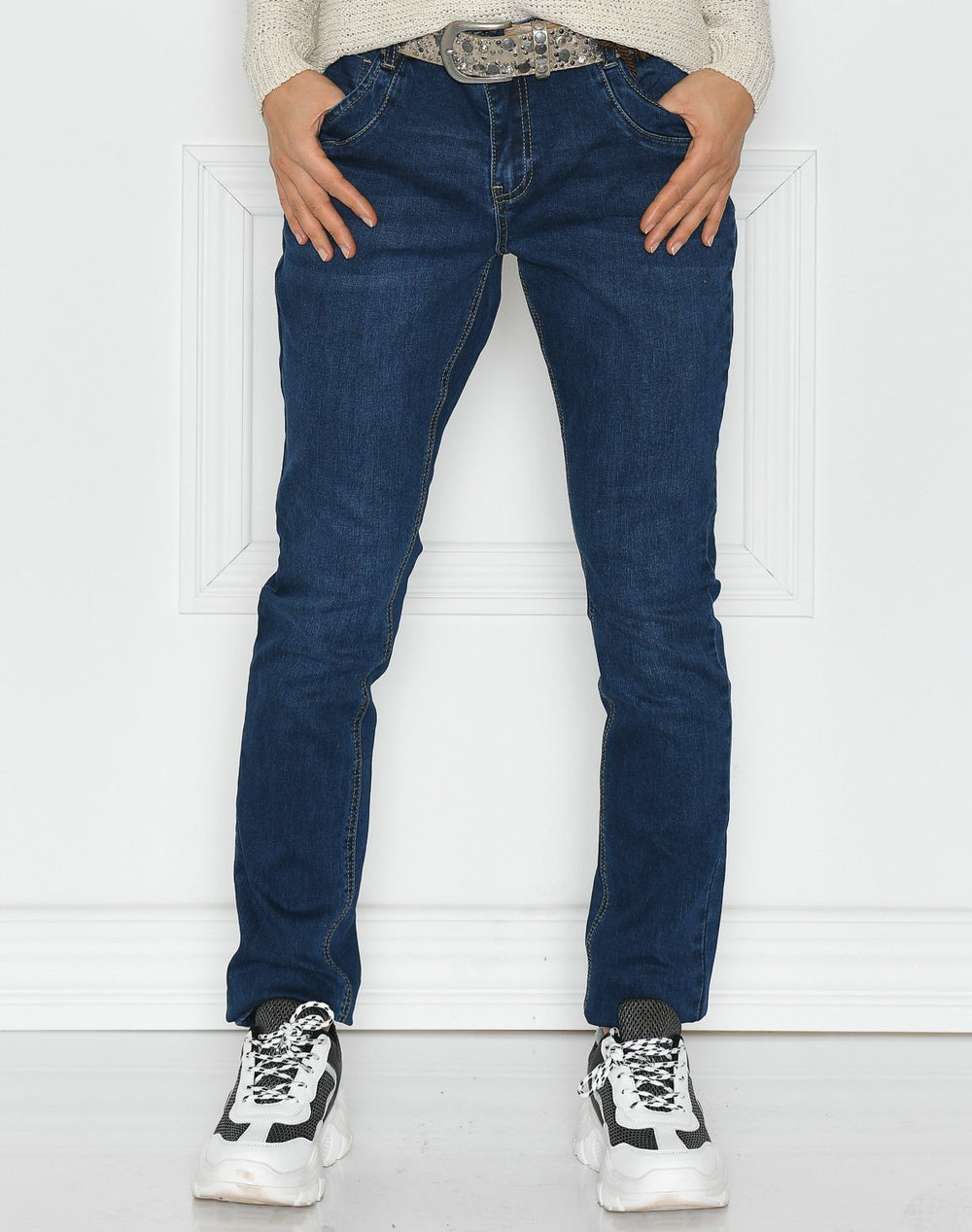 Ofelia Asta jeans dark blue wash - Online-Mode