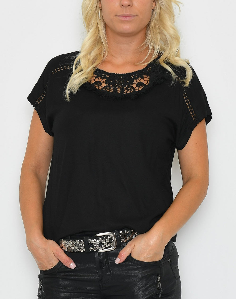 Ofelia Fillis bluse black - Online-Mode