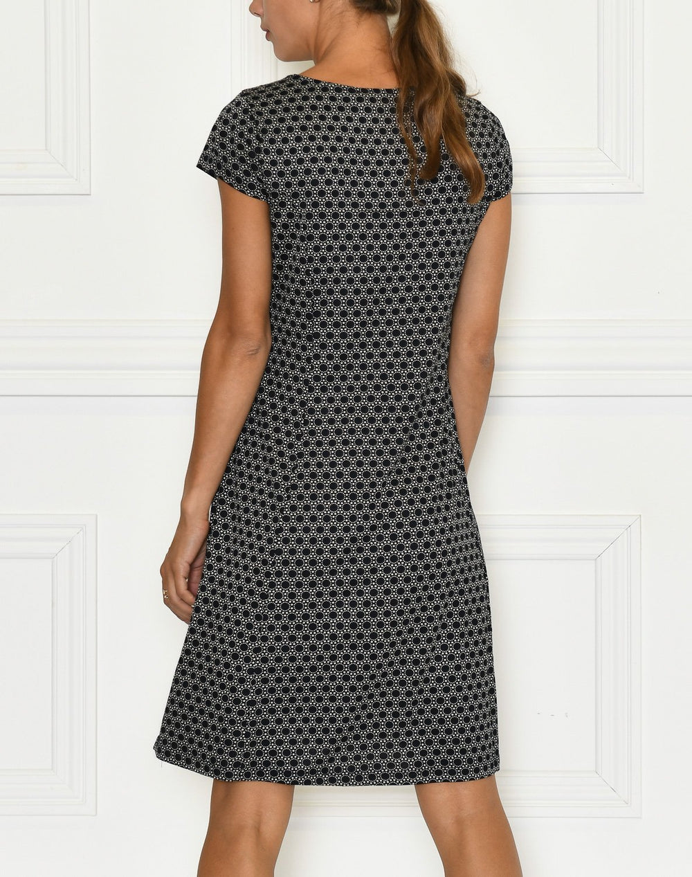 Ofelia Fiola dress print 2 navy - Online-Mode