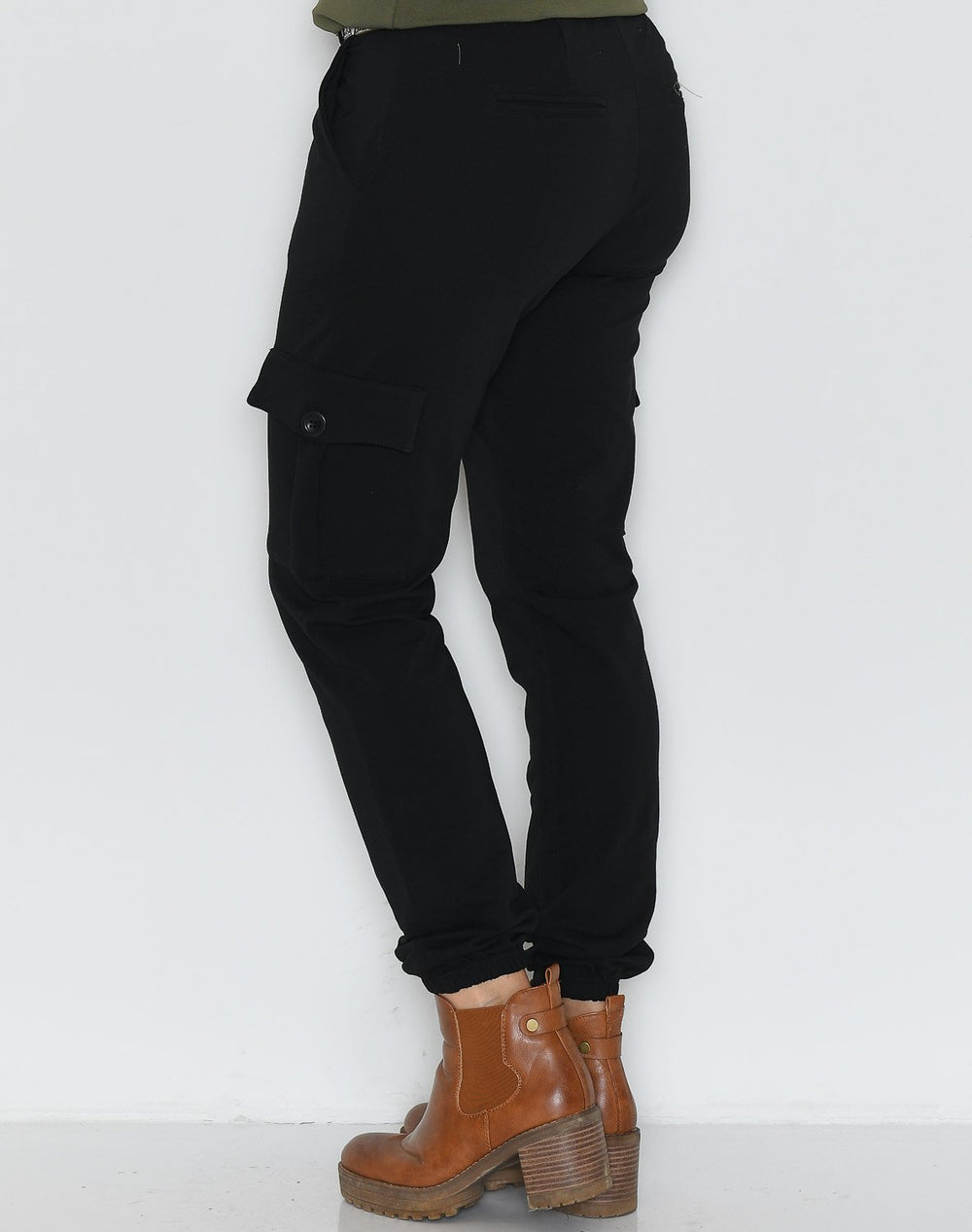 Ofelia Lara cargo pants black - Online-Mode