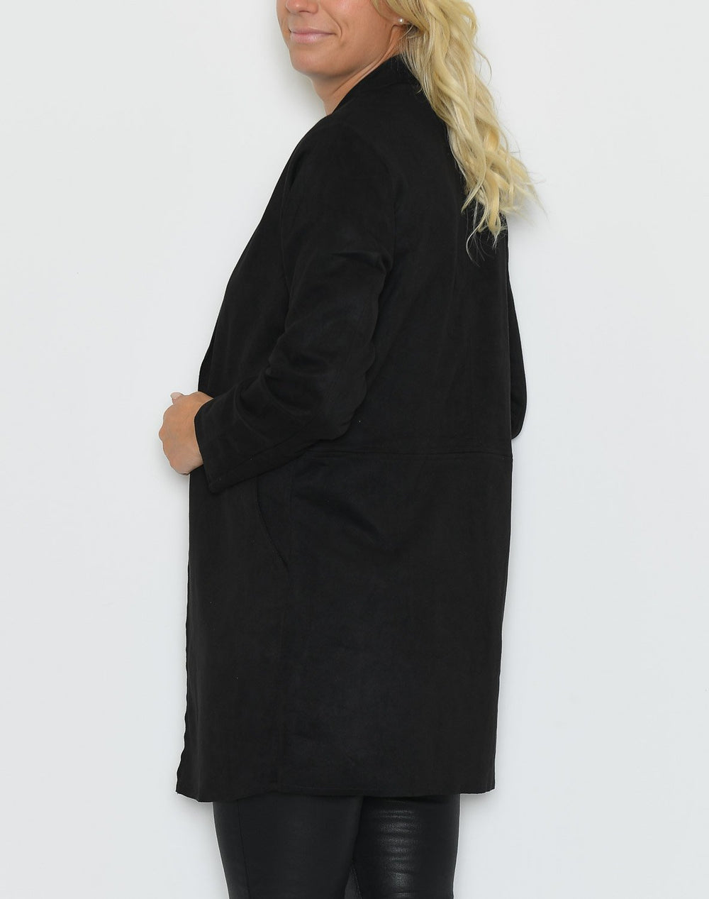 Ofelia Mary long blazer black - Online-Mode