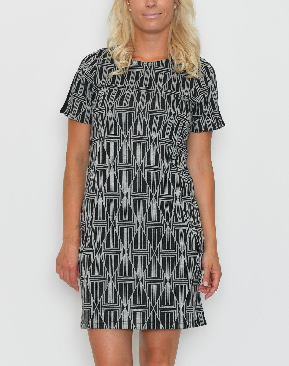 Ofelia Nete dress black combi - Online-Mode
