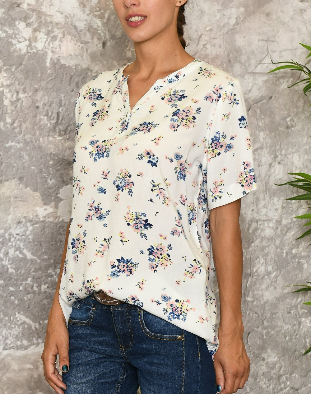 Ofelia Nikkie shirt white - Online-Mode