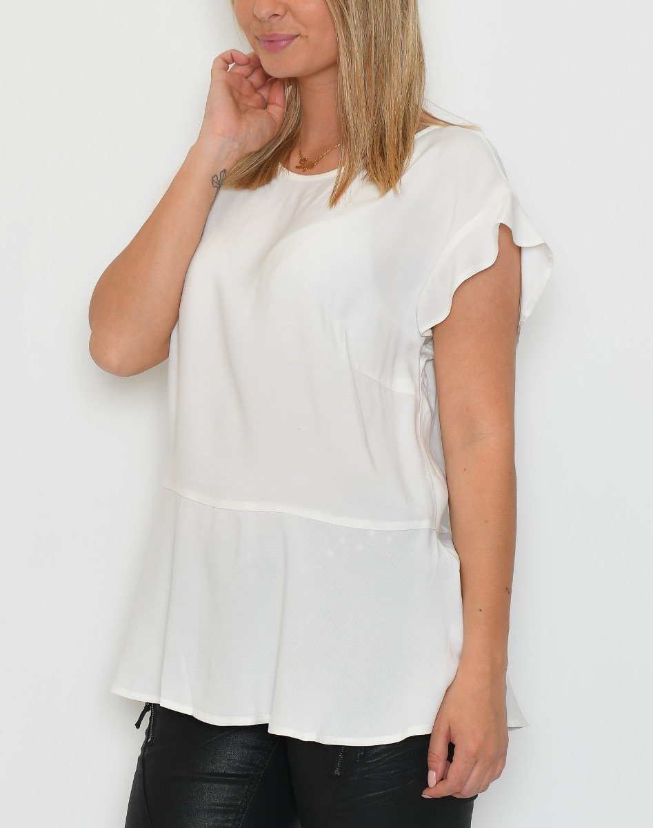 One Two Kitza bluse cream - Online-Mode