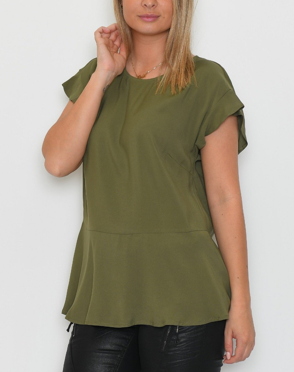 One Two Kitza bluse olivo - Online-Mode