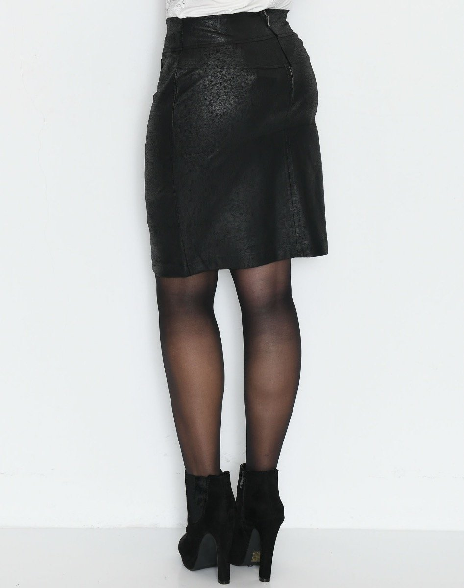 One Two Luxzuz Fabienne skirt black - Online-Mode