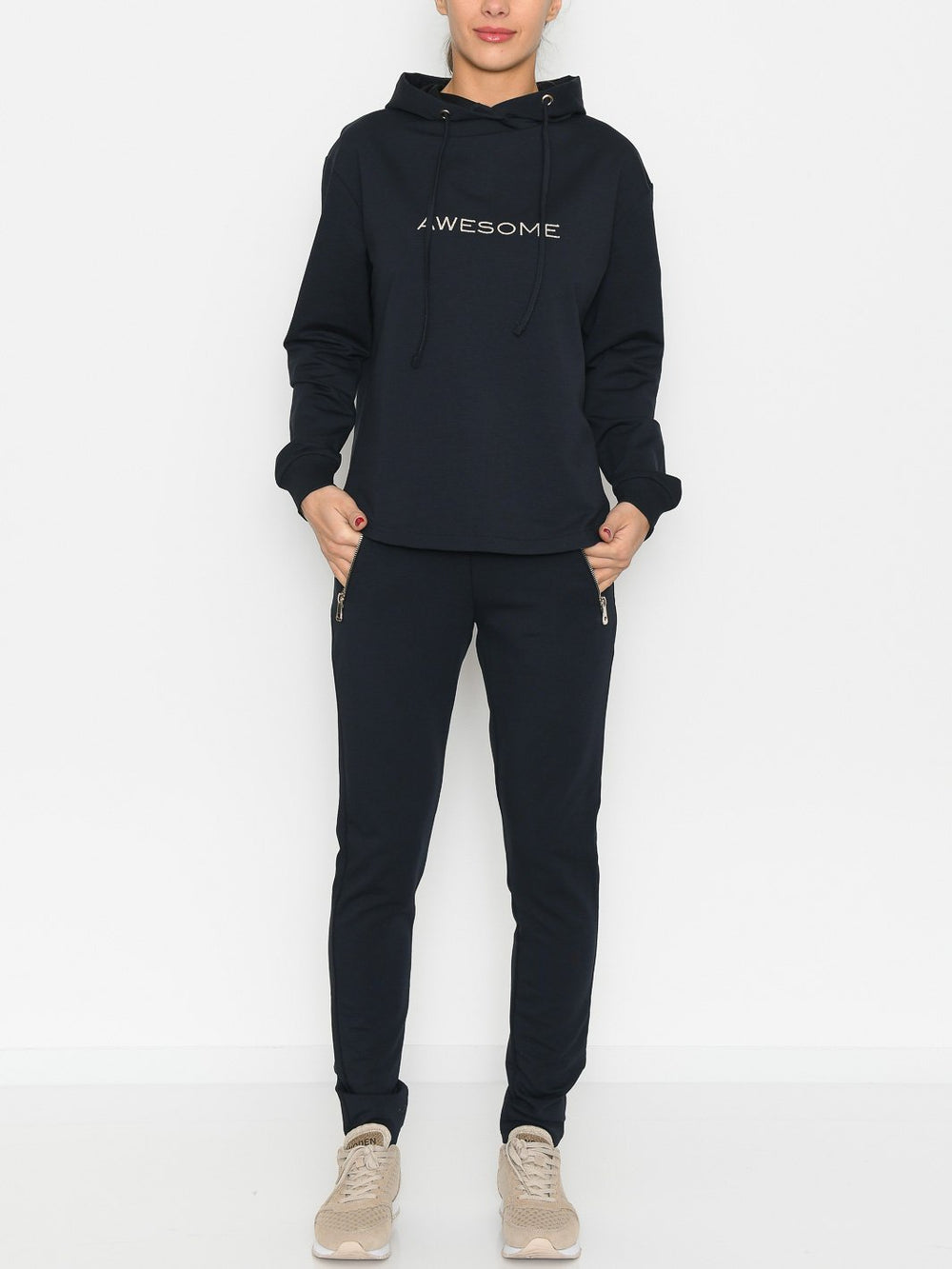 Prepair Awesome sweatpants navy - Online-Mode