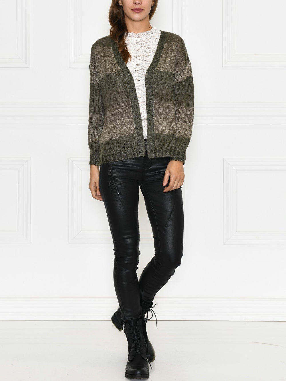 Prepair Cille cardigan army - Online-Mode
