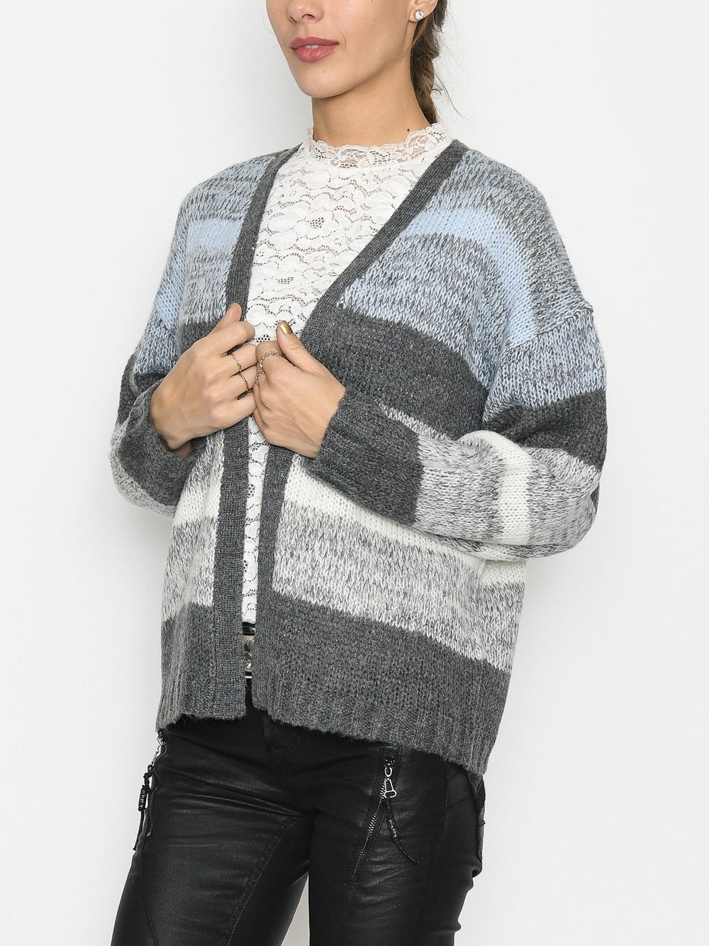 Prepair Cille cardigan blue - Online-Mode