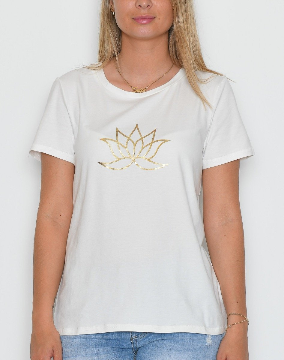 Prepair Lotus t-shirt white - Online-Mode