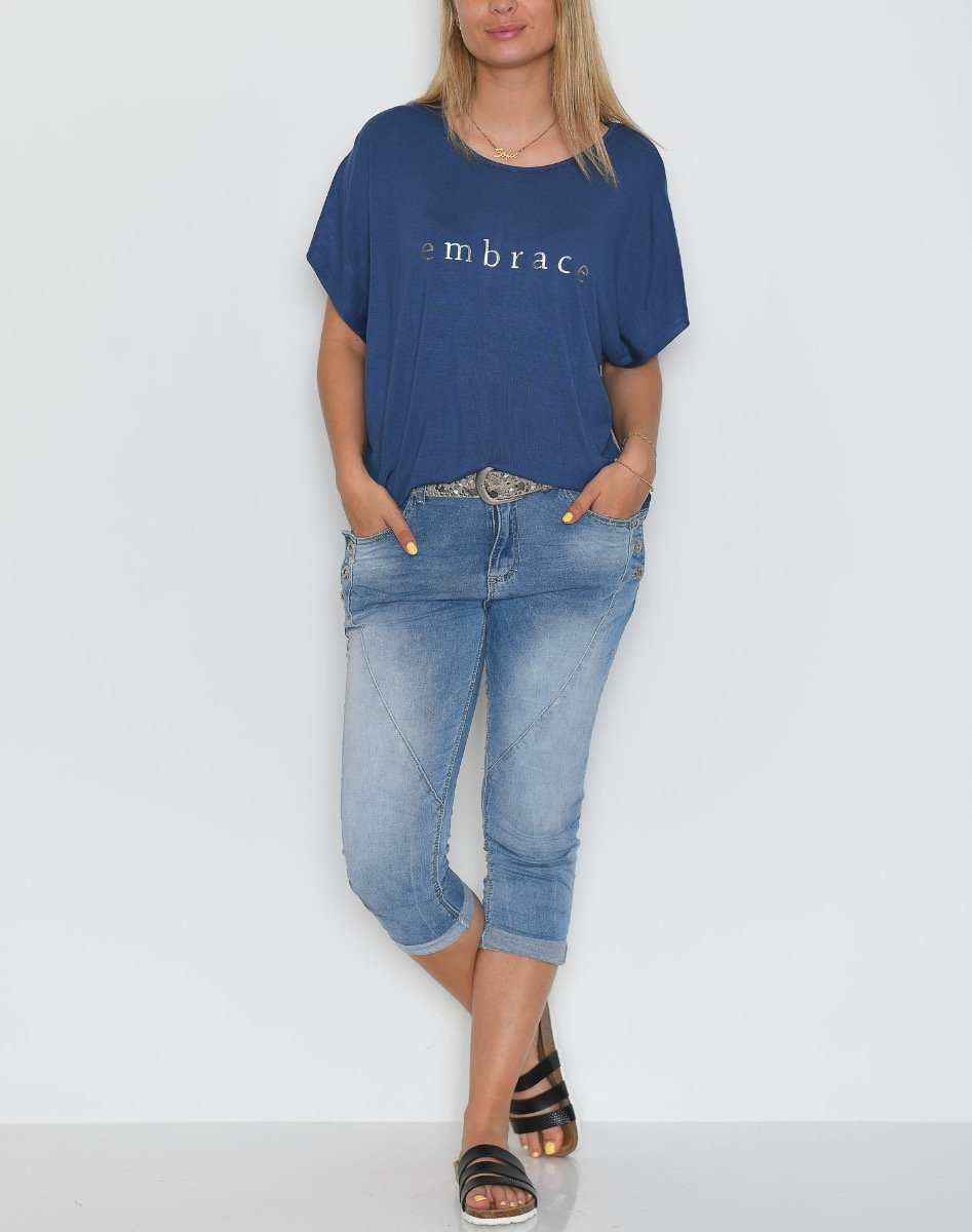 Prepair Nina t-shirt blue - Online-Mode