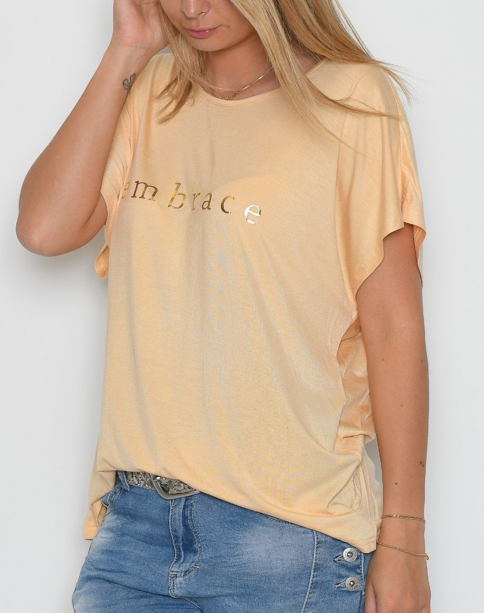 Prepair Nina t-shirt yellow - Online-Mode
