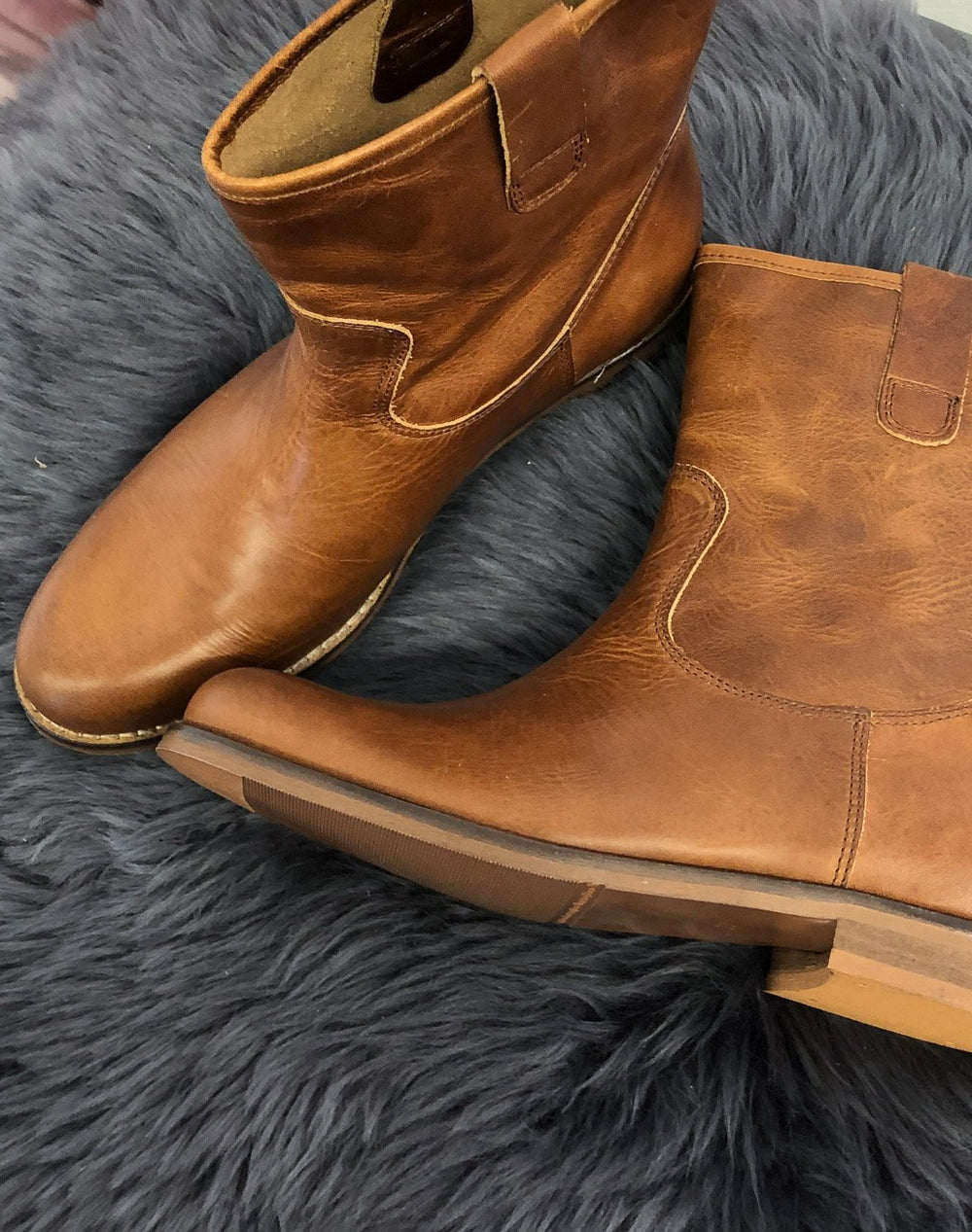 RE:Designed Flori boots cognac - Online-Mode