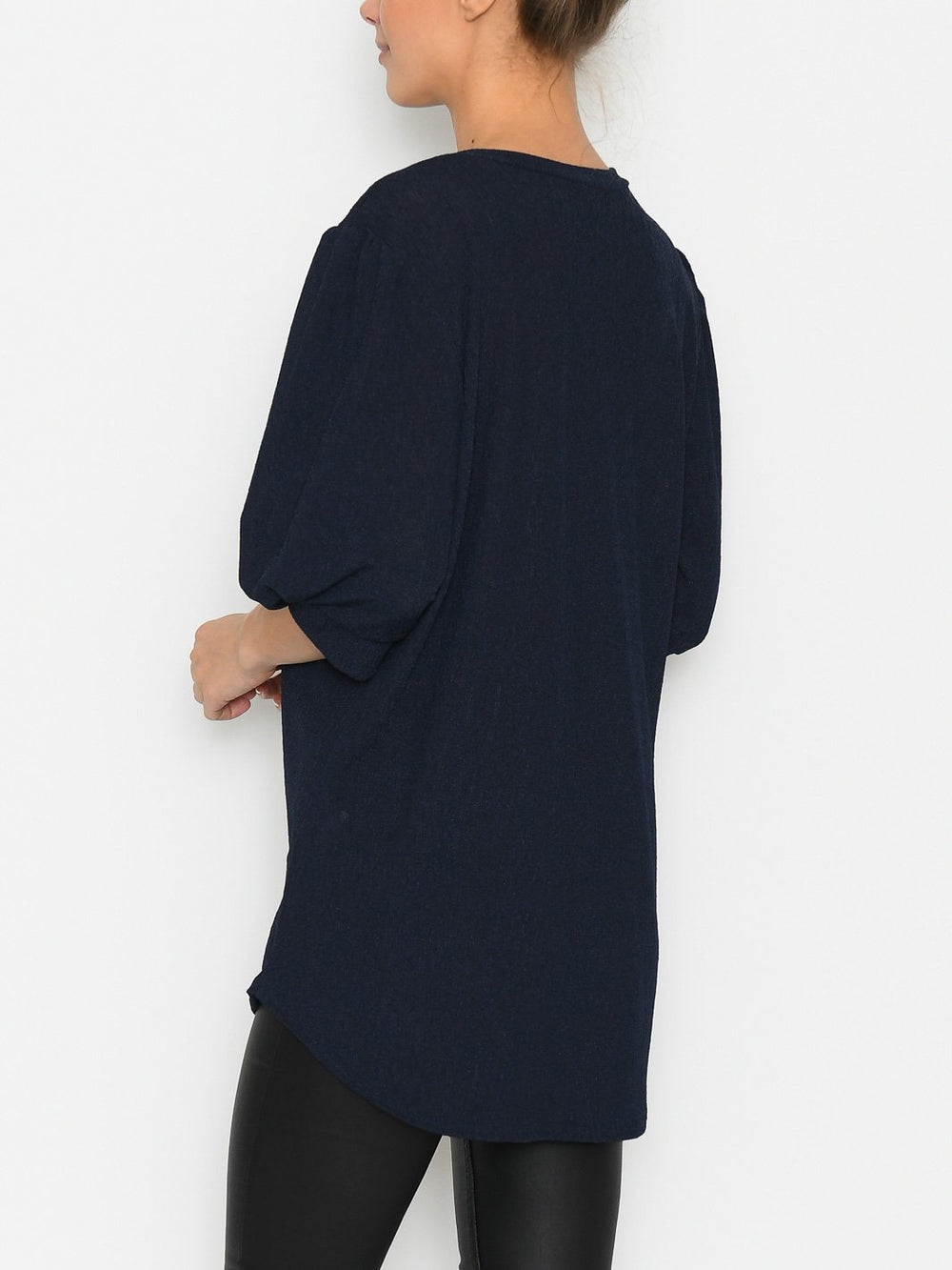 Riley blouse navy - Online-Mode