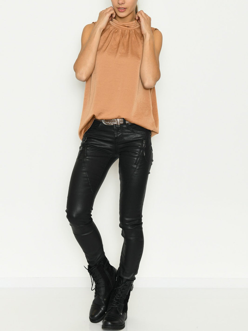 Saint Tropez AileenSZ top pecan brown - Online-Mode