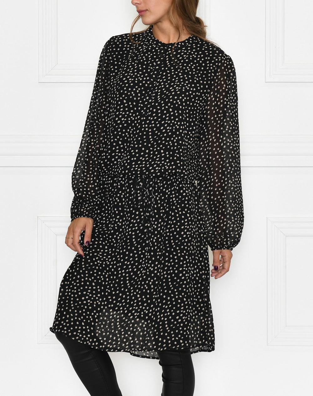 Saint Tropez AllieSZ dress dot black - Online-Mode